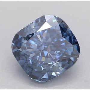 1.20 Ct Intense Blue Cushion Cut Loose Diamond Diamond