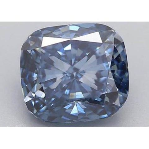 1.22 Ct Intense Blue Cushion Cut Loose Diamond Diamond