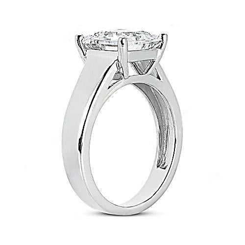 2 Carat F Vs1 Princess Diamond Solitaire Engagement Ring New