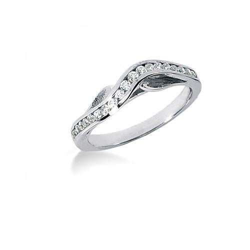 Engagement Ring Set New Diamond Engagement Ring Set 1.90 Carats White Gold 14K