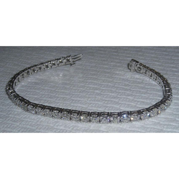 8 Carats Diamond Tennis Bracelet Sparkling Diamonds