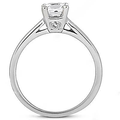 Solitaire Ring Diamond 1.21 Ct. Engagement Solitaire Ring Jewelry