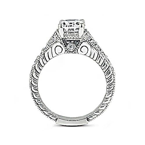 Oval Cut Diamonds 1.51 Ct. Ring G Si1 Diamond Gold Ring