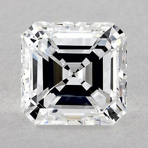 1.25 Carats Asscher Diamond Loose D Vvs2 Very Good Cut Diamond