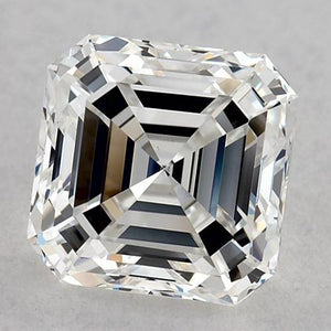 1.25 Carats Asscher Diamond Loose E Vvs1 Very Good Cut Diamond