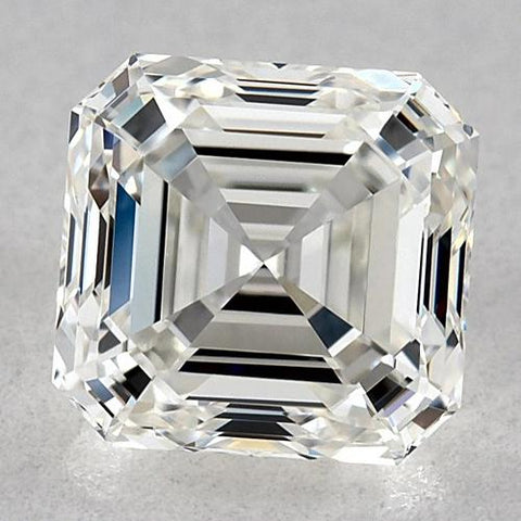 1.25 Carats Asscher Diamond Loose F Vvs1 Very Good Cut Diamond