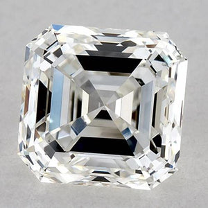 1.25 Carats Asscher Diamond Loose G Vvs2 Very Good Cut Diamond