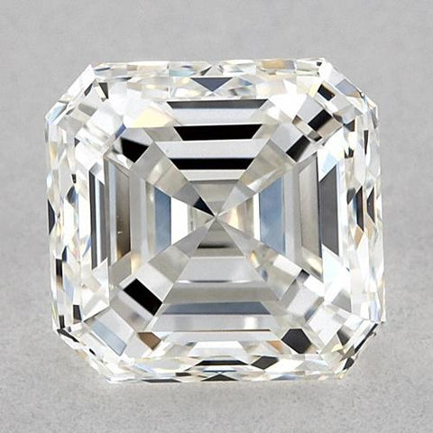 1.25 Carats Asscher Diamond Loose H Vvs1 Very Good Cut Diamond