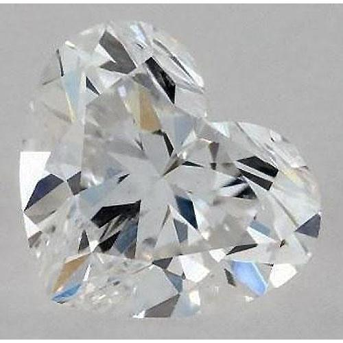1.25 Carats Heart Diamond Loose G Vs1 Very Good Cut Diamond