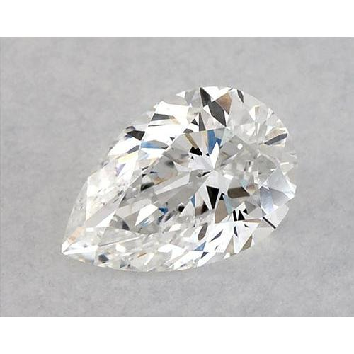 1.25 Carats Pear Diamond Loose F Vvs1 Very Good Cut Diamond