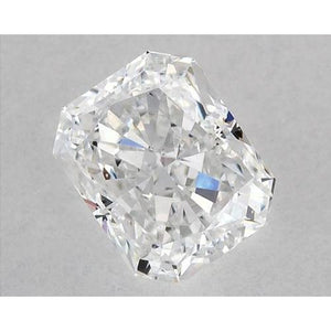 1.25 Carats Radiant Diamond Loose D Vvs2 Very Good Cut Diamond