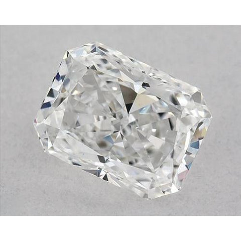 1.25 Carats Radiant Diamond Loose E Vvs2 Very Good Cut Diamond