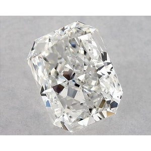 1.25 Carats Radiant Diamond Loose I Si1 Good Cut Diamond