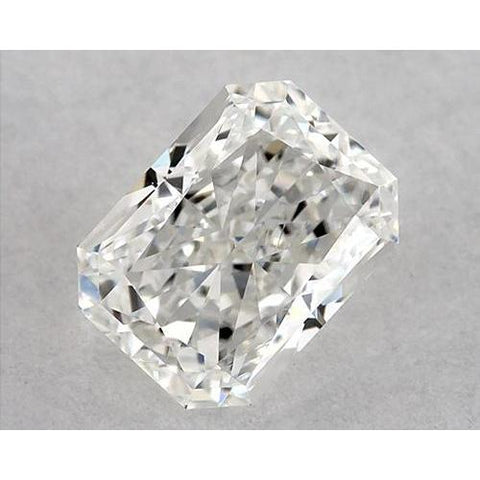 1.25 Carats Radiant Diamond Loose J Vs1 Very Good Cut Diamond