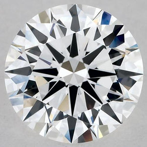 1.25 Carats Round Diamond D Vvs2 Excellent Cut Loose Diamond