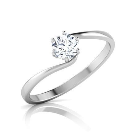 1.25 Ct Solitaire 6 Prong Set Round Cut Diamond Wedding Ring Solitaire Ring