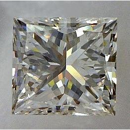 1.26 Ct. Princess Cut  F Vvs1 Diamond Loose Diamond
