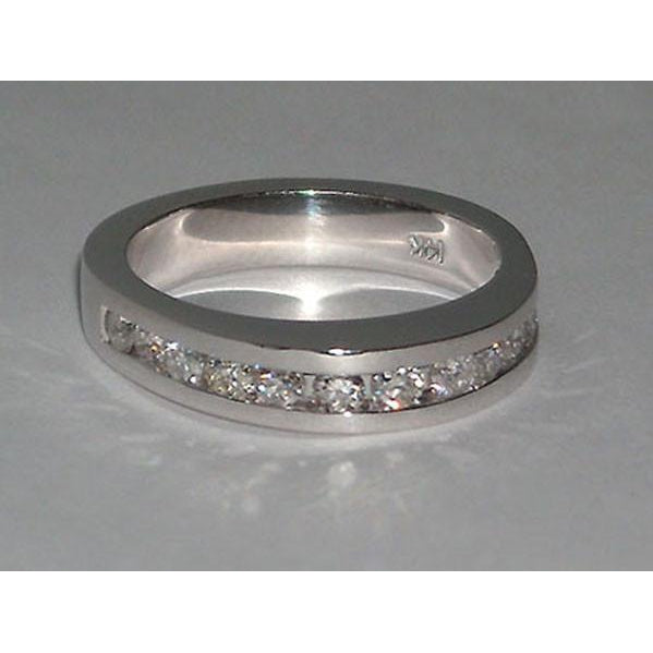 4.76 Carats Diamond Engagement Eternity Ring And Band Set