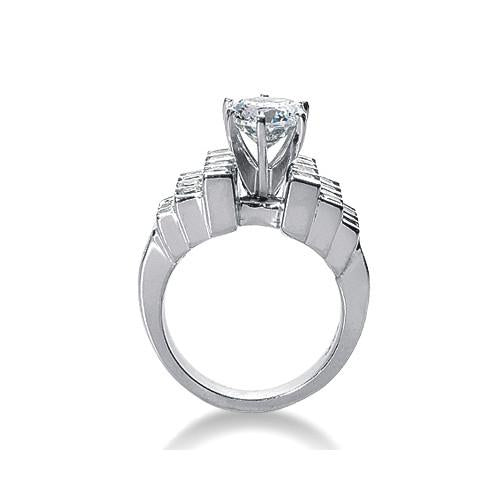 F Vvs1 Diamonds Engagement Fancy Ring 3.51 Carat Diamond Gold