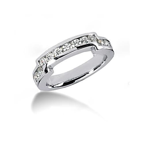 Engagement Ring Set Diamond Engagement Set 2.66 Carats White Gold 14K New Women Jewelry