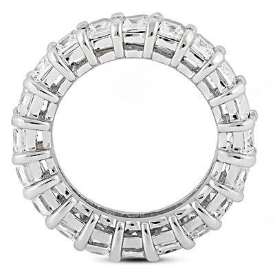 Eternity Band Emerald Cut Diamonds Eternity Engagement Band 12 Cts. New