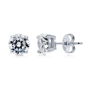 1.3 Ct Round Diamond Stud Earring Fine Jewelry Stud Earrings