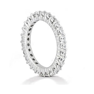 1.35 Carat Round Diamond Eternity Engagement Womens Band New Eternity Band