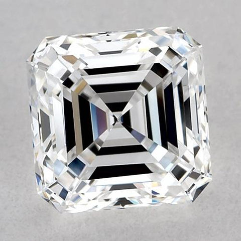 1.5 Carats Asscher Diamond Loose D Vvs2 Very Good Cut Diamond