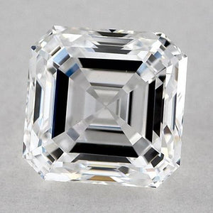 1.5 Carats Asscher Diamond Loose E Vvs1 Very Good Cut Diamond