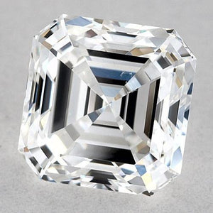1.5 Carats Asscher Diamond Loose E Vvs2 Very Good Cut Diamond