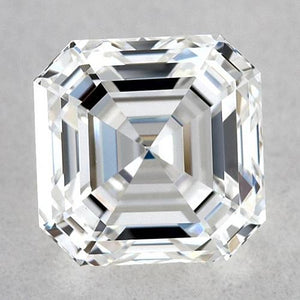 1.5 Carats Asscher Diamond Loose F Vvs1 Very Good Cut Diamond