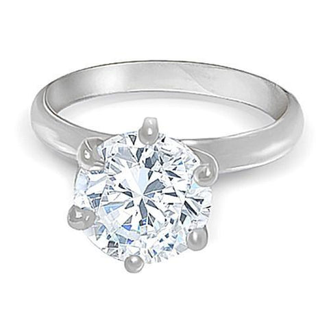 1.5 Ct. Diamond Solitaire Ring White Gold 14K Jewelry F Vs1 Solitaire Ring