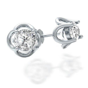 1.5 Ct Round Solitaire Diamond Women Stud Earring Stud Earrings