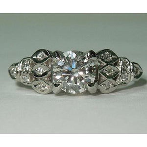 1.50 Carats Diamond Engagement Ring Jewelry New Engagement Ring