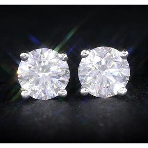 1.50 Carats Diamond Studs Stud Earrings