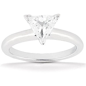 1.51 Ct. F Vs1 Diamond Solitaire Ring White Gold Solitaire Ring