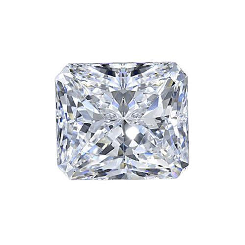 1.58 Carat E Vvs1 Radiant Cut Natural Loose Diamond Diamond