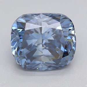 1.65 Ct Intense Blue Cushion Cut Loose Diamond Diamond