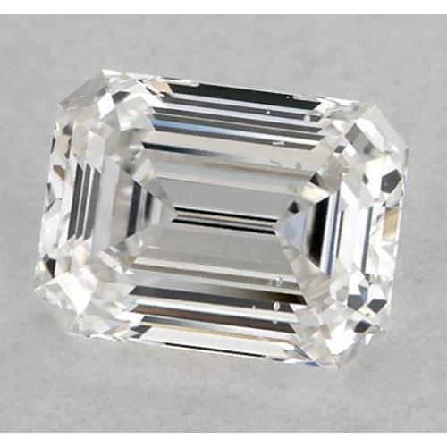 1.75 Carats Emerald Diamond Loose H Vs1 Very Good Cut Diamond