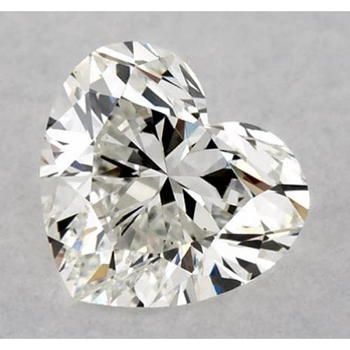 1.75 Carats Heart Diamond Loose H Vvs2 Very Good Cut Diamond