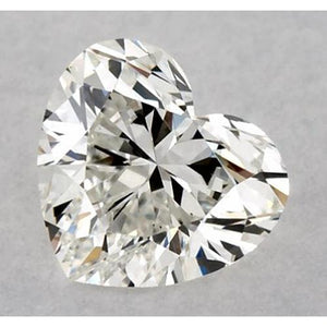 1.75 Carats Heart Diamond Loose K Si1 Good Cut Diamond