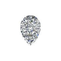 1 Carat G SI1 Pear Cut Sparkling Loose Natural Diamond