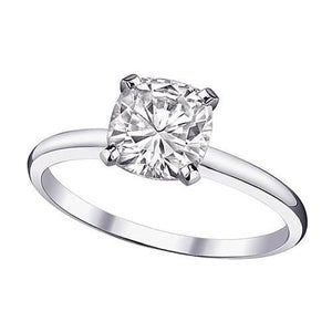 2 Carat Cushion Solitaire Diamond Ring Diamond New Solitaire Ring
