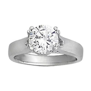 2 Carat Diamond Solitaire Engagement Ring Prong Set Jewelry Lady Men Solitaire Ring