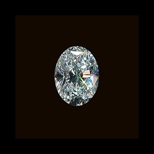 2 Carat Oval Cut Loose Diamond High Quality Loose Diamond