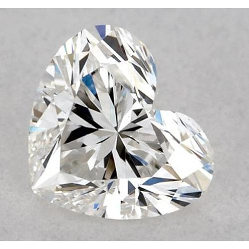 2 Carats Heart Diamond Loose H Vvs1 Very Good Cut Diamond