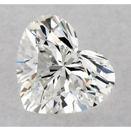 2 Carats Heart Diamond Loose H Vvs2 Very Good Cut Diamond