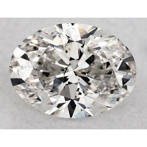 2 Carats Oval Diamond Loose I Si1 Good Cut Diamond