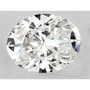 2 Carats Oval Diamond Loose J Si1 Good Cut Diamond