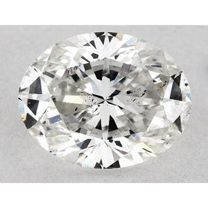 2 Carats Oval Diamond Loose K Si1 Good Cut Diamond